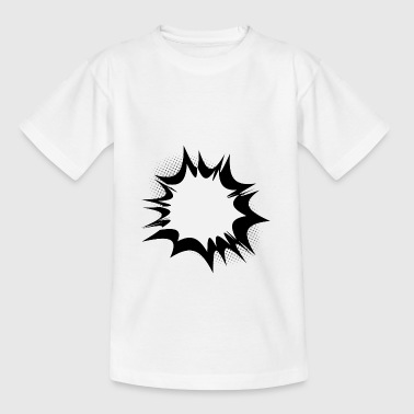 Comic speech bubble explosion - Kids' T-Shirt