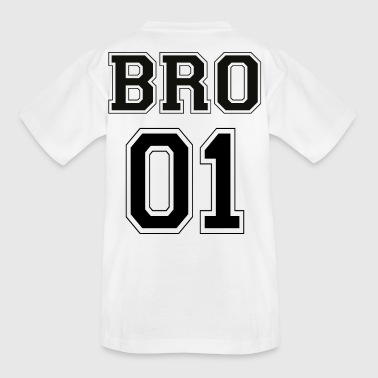 BRO 01 - Black Edition - Kinder T-Shirt