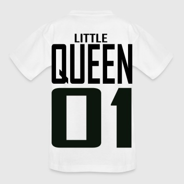 XXXXL LOGO LITTLE QUEEN 01.png - Kinder T-Shirt