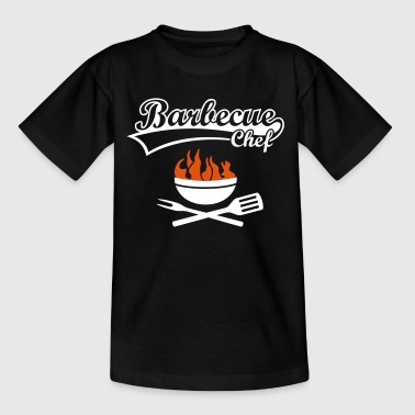 Barbeque Grill grillen barbecuën barbecuër - Kinderen T-shirt