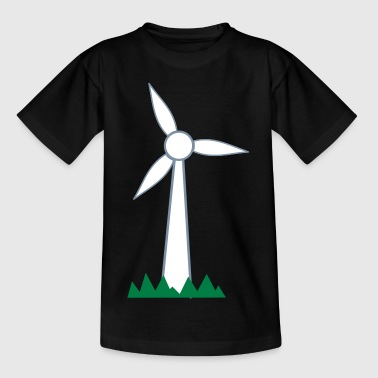 Windrad - Kinder T-Shirt