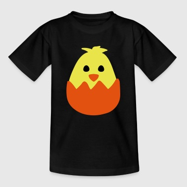 Hatching Easter Chick - Kids' T-Shirt
