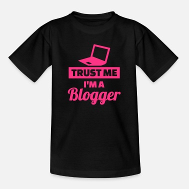 Blogger Blogger - Kinder T-Shirt