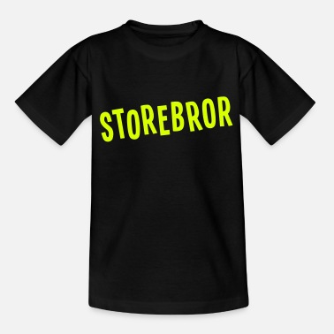 Stolt Storebror - T-skjorte for barn