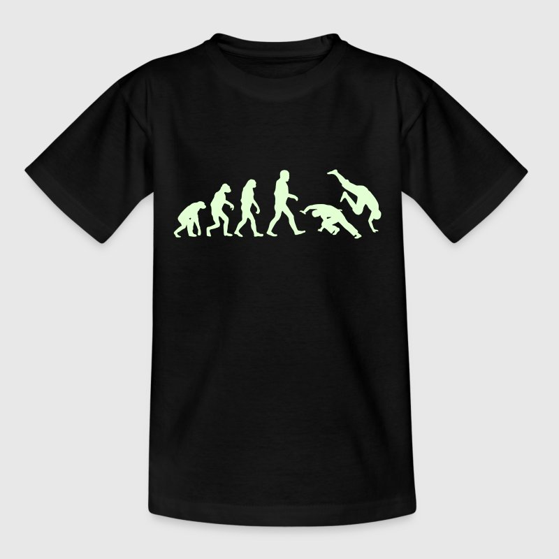Capoeira Evolution logo - Kids' T-Shirt