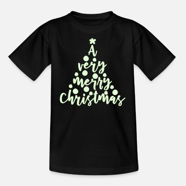 A very merry Christmas 2farbig - Kinder T-Shirt