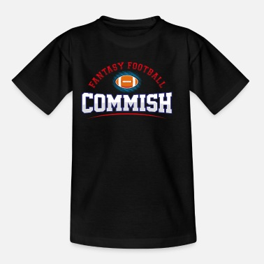 Commish Fantasy Football Commish Draft Party - Kids' T-Shirt
