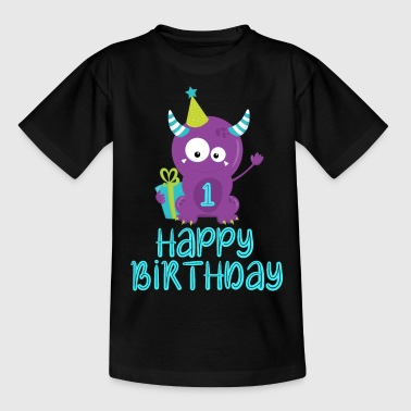 1st Birthday, 1st Birthday - Kids' T-Shirt