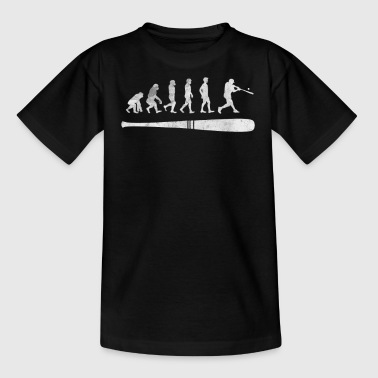 Red Sox Baseball evolution of a batter shirt funny gift - Kids' T-Shirt