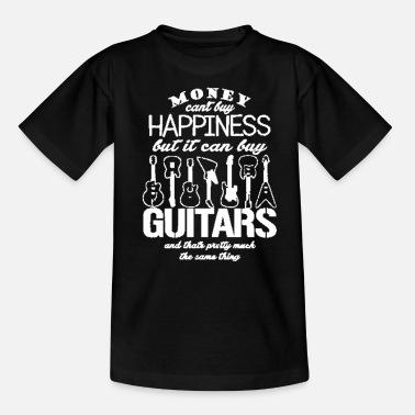 Player guitar player - Kids' T-Shirt