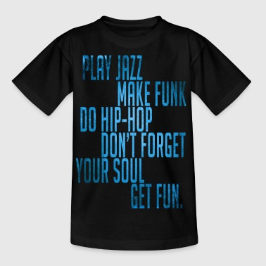 Jazz,funk & Hip-Hop Vintage - T-shirt Enfant