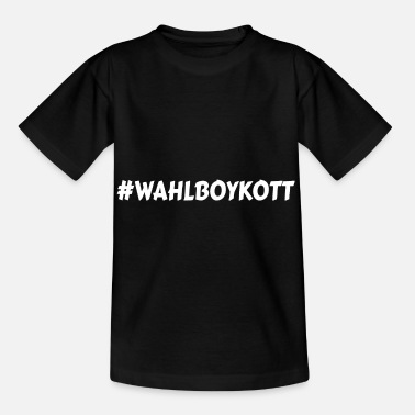 Ballot Election boycott elections voters boycott ballot box vote - Kids' T-Shirt