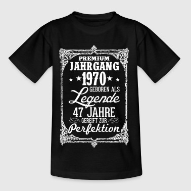 47 - 1970 - Legende - Perfektion - 2017 - DE - Kinder T-Shirt