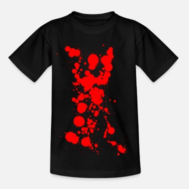 Bloodstain bloodstains - Kids' T-Shirt