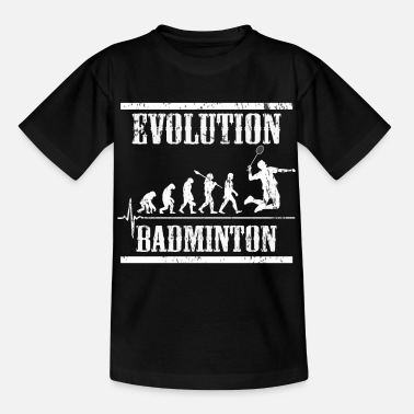 League Game Badminton Evolution - Kids' T-Shirt