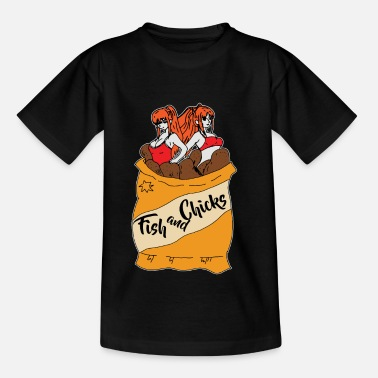 Fish Fish and chips - Kids' T-Shirt