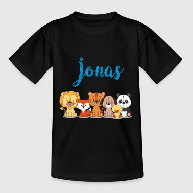 Jonas Namensshirt Name T-Shirt by DRUCKPUNK - Kinder T-Shirt