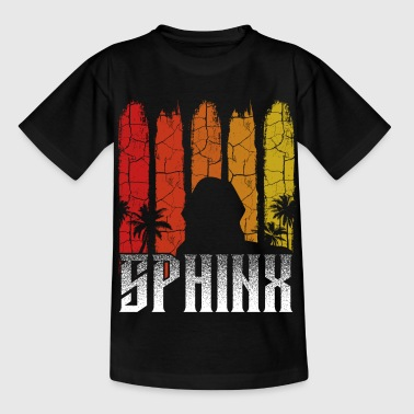 Sphinx retro - Kinderen T-shirt