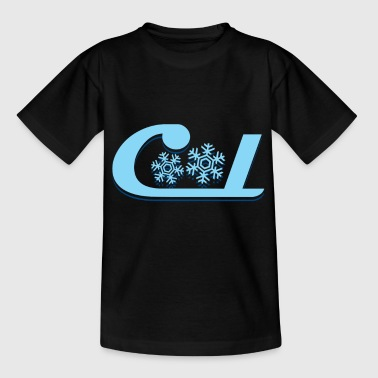 Cool snowflakes kids Christmas - Kids' T-Shirt