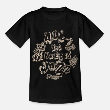 Jazz Jazz - Kinder T-Shirt