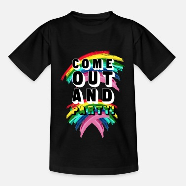 Coming Out Come Out And Party! - Kids' T-Shirt