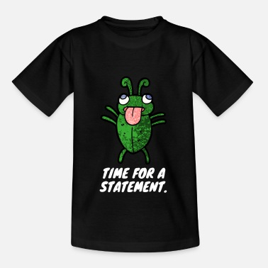 Funny Running Time for a statement - Kids' T-Shirt