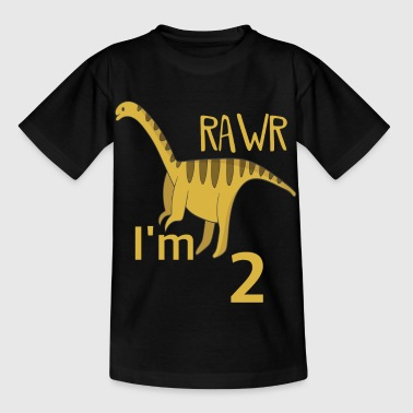 Boy For the 2 birthday for boys Barosaurus - Kids' T-Shirt
