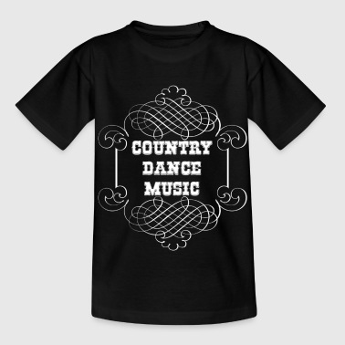 country dance music - Kinder T-Shirt