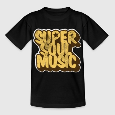 Soul Music Black Music Jazz - Camiseta niño