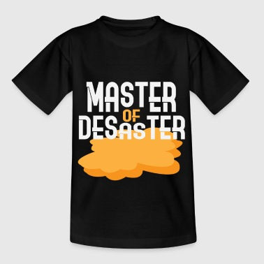 Chaos Master of Disaster - Børne-T-shirt