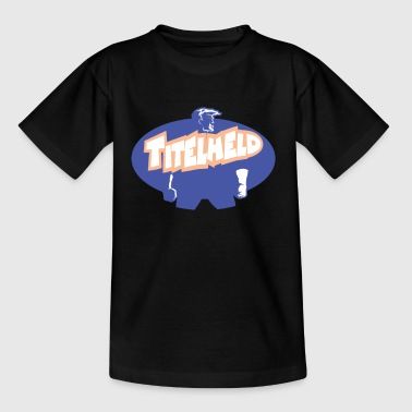 Title hero Hero Star Comic - Kids' T-Shirt