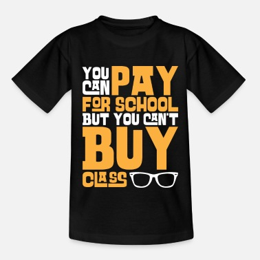 Pay Pay For School - Kids' T-Shirt