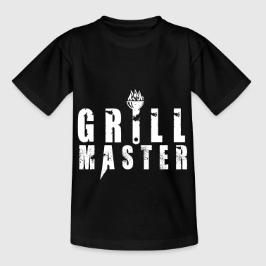 T-shirt Grill Master BBQ BBQ Steak Gift - Kinderen T-shirt