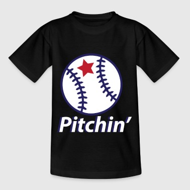 Pitching Baseball Pitchin Baseball Sport Trikot - Kinder T-Shirt