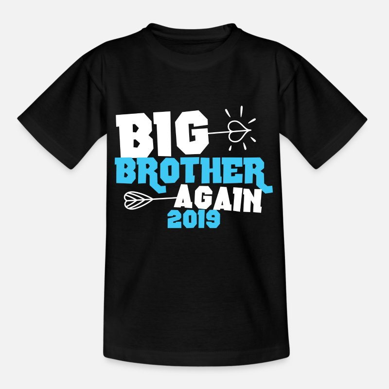 Naissance T-shirts - Big Brother 2019 - Chemise Big Brother Again 2019 - T-shirt Enfant noir