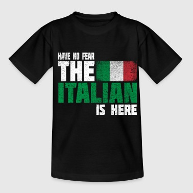 Italy flag flag gift gift idea - Kids' T-Shirt