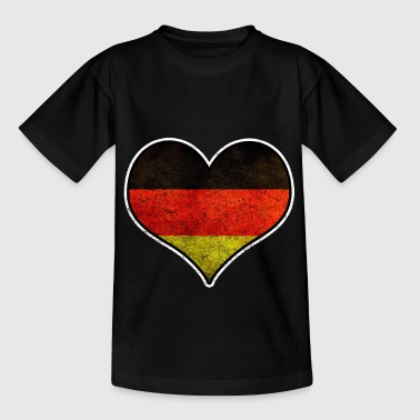 Nationalfärger Homeland Flag Germany - T-shirt barn