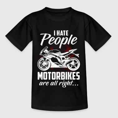 Motorcycle Shirt · Superbike · Bike · Misanthropy - Kids' T-Shirt