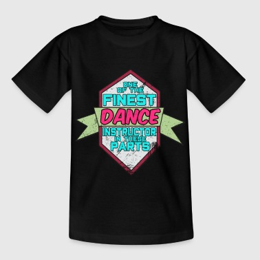 Geschwister Awesome & Trendy Tshirt-Designs Tanzlehrer - Kinder T-Shirt
