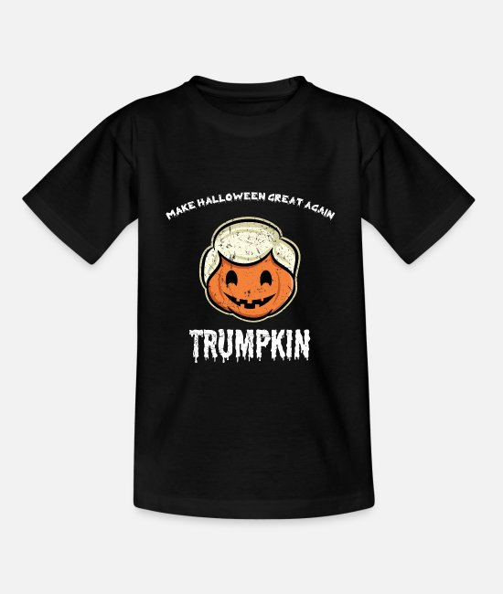 Halloween Costume T-Shirts - Halloween Trumpkin Make Halloween Great Trump - Kids' T-Shirt black