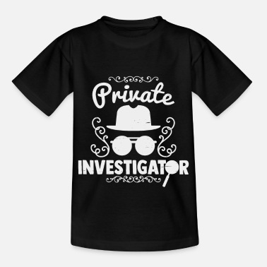 Privateer private investigator - Kids' T-Shirt