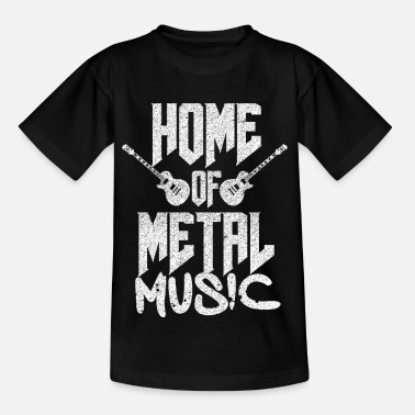 Metal Music Metal music - Kids' T-Shirt