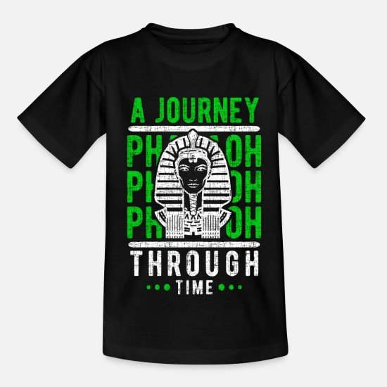 Birthday T-Shirts - Pharaoh - Kids' T-Shirt black