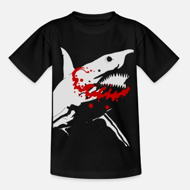 Fish Shark Predator Restored Gift for All - Kids' T-Shirt