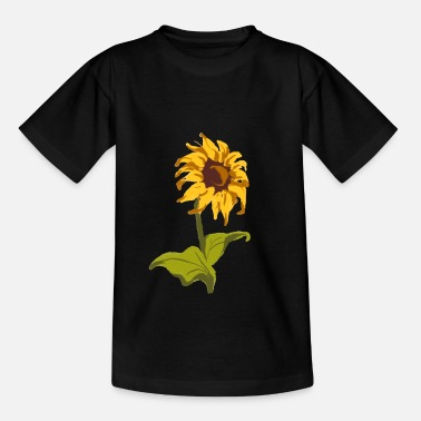 One Of A Sunflower Classic gift for florists - Kids' T-Shirt