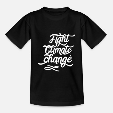 Save The Planet climate Change - Kids' T-Shirt