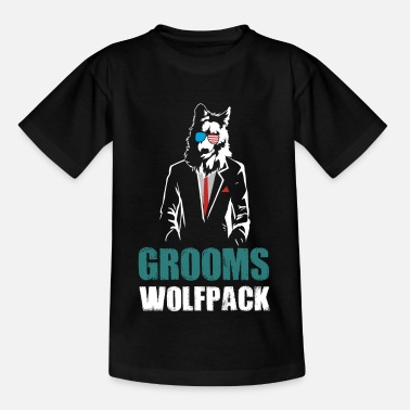 Checklist Grooms Wolfpack - Kids' T-Shirt