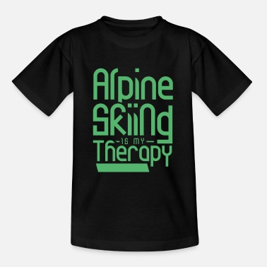 After Ski Skis Ski races Alpine skiing Alpine skiing Skiers - Kids' T-Shirt