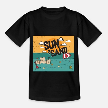 Sandbox Sun and sand - Kids' T-Shirt