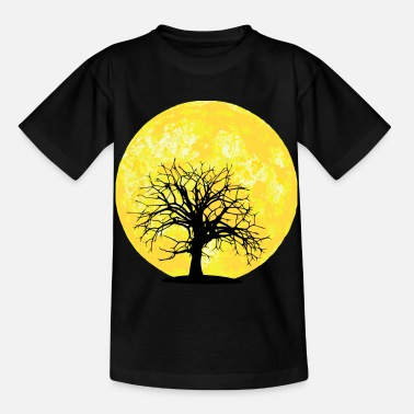 Moon Landings Moon - tree - Kids' T-Shirt